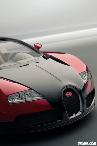Bugatti iPhone Wallpaper