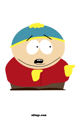 Cartman iPhone Wallpaper