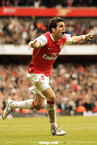 Cesc Fabregas iPhone Wallpaper