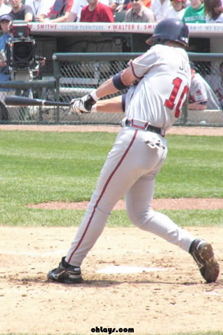 Chipper Jones iPhone Wallpaper