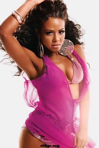 Christina Milian iPhone Wallpaper