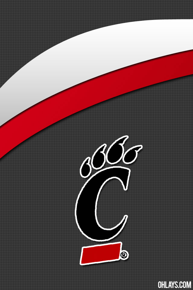 Cincinnati Bearcats iPhone Wallpaper