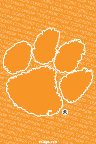 Clemson Tigers Iphone Wallpaper 909 Ohlays