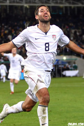 Clint Dempsey iPhone Wallpaper