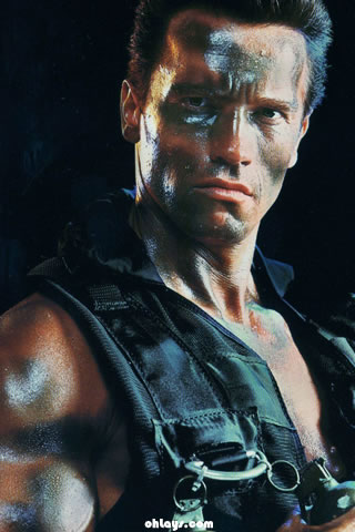 Commando iPhone Wallpaper