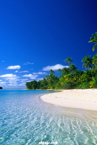 Cook Islands iPhone Wallpaper