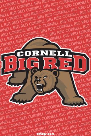 Cornell Big Red iPhone Wallpaper