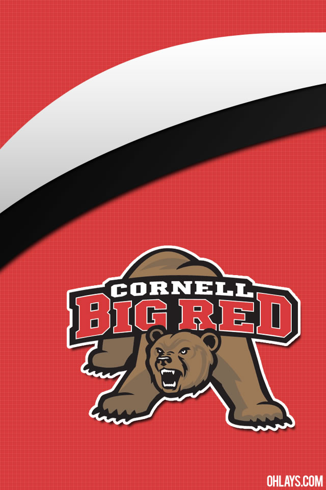 Cornell Big Red iPhone Wallpaper