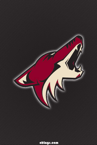 Phoenix Coyotes iPhone Wallpaper