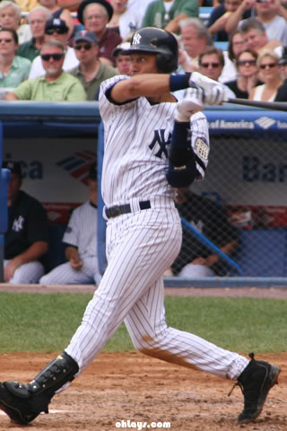 Derek Jeter iPhone Wallpaper