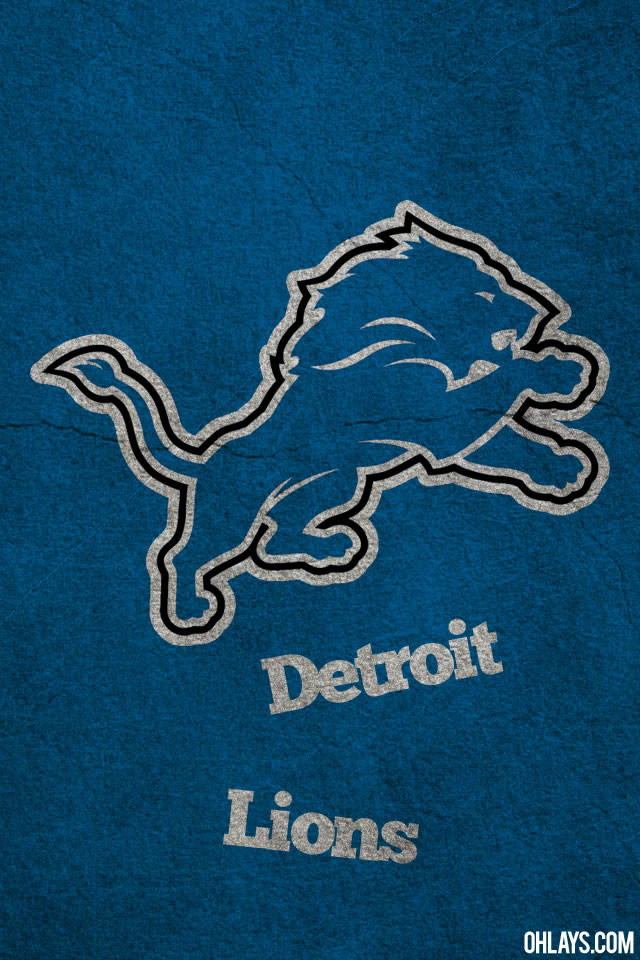 Detroit Lions iPhone Wallpaper