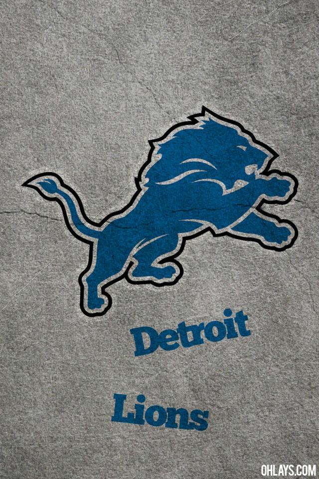 Detroit Lions iPhone Wallpaper