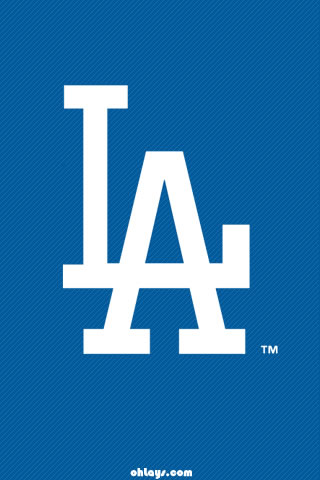 Los Angelese Dodgers iPhone Wallpaper