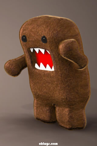 Domo iPhone Wallpaper