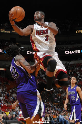 Dwayne Wade iPhone Wallpaper
