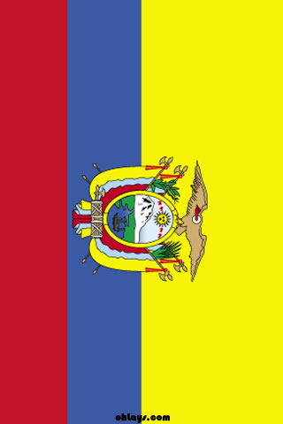 Ecuador iPhone Wallpaper