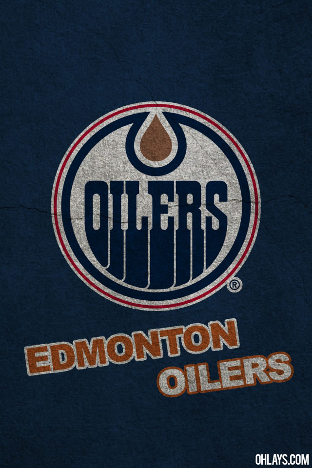 Edmonton Oilers iPhone Wallpaper