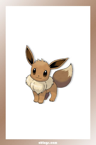 Eevee iPhone Wallpaper