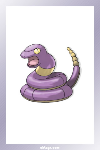 Ekans iPhone Wallpaper