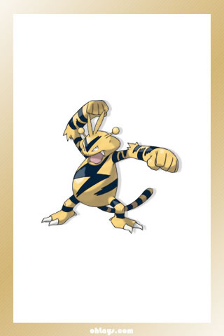 Electabuzz iPhone Wallpaper