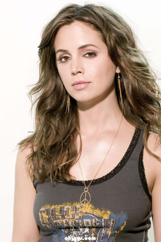 Eliza Dushku iPhone Wallpaper