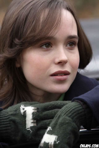 Ellen Page iPhone Wallpaper