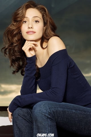 Emmy Rossum Iphone Wallpaper 2370 Ohlays