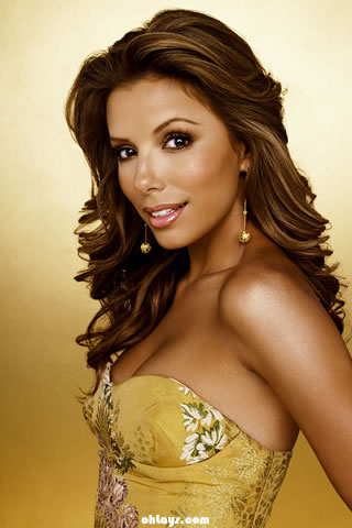 Eva Longoria iPhone Wallpaper