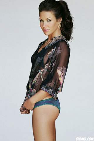 Evangeline Lilly iPhone Wallpaper