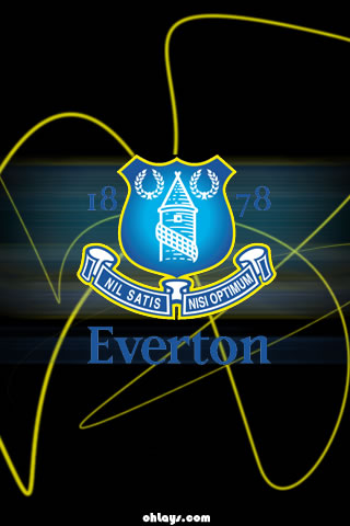 Everton iPhone Wallpaper