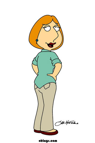 Lois Griffin iPhone Wallpaper