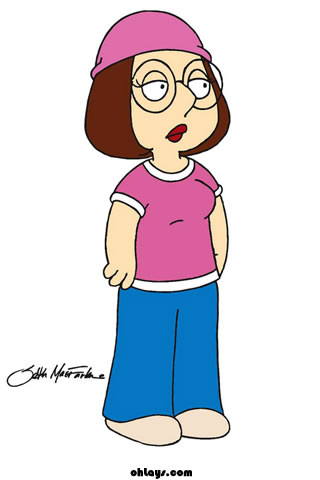 Meg Griffin Family Guy iPhone Wallpaper