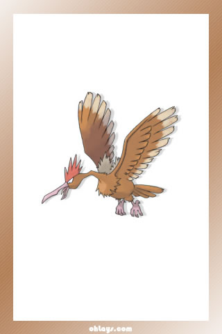 Fearow iPhone Wallpaper