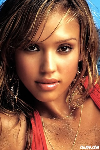 Jessica Alba iPhone Wallpaper