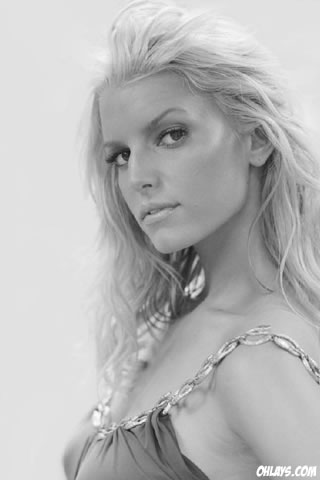 Jessica Simpson iPhone Wallpaper