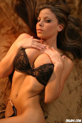 Lingerie Babe iPhone Wallpaper