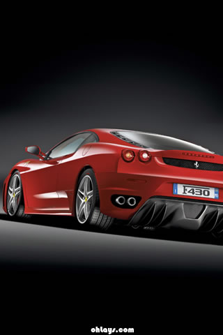 Ferrari F430 iPhone Wallpaper