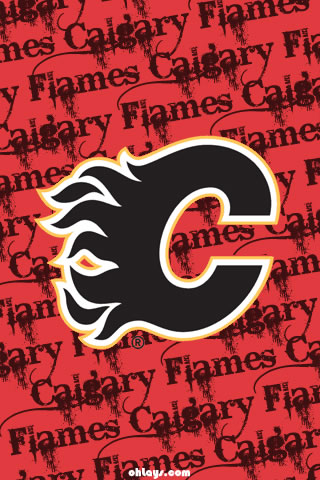 Calgary Flames iPhone Wallpaper