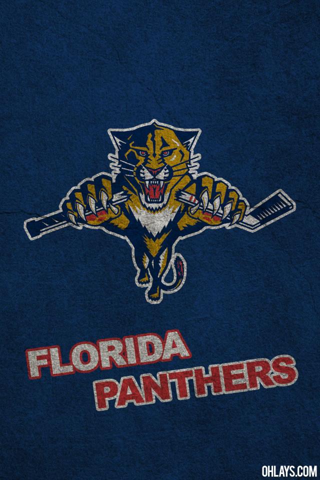 Florida Panthers iPhone Wallpaper