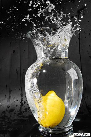 Lemon iPhone Wallpaper