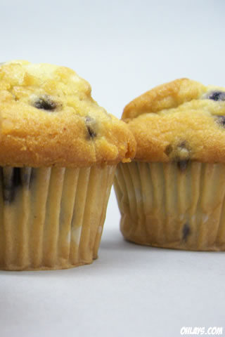Muffins iPhone Wallpaper