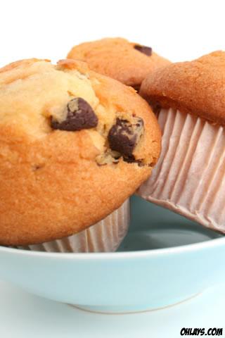 Muffins iPhone Wallpaper