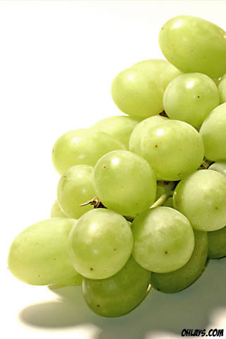 Grapes iPhone Wallpaper