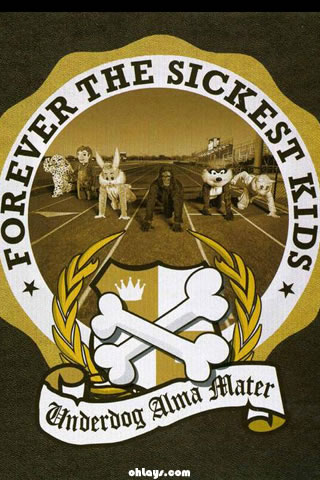 Forever The Sickest Kids iPhone Wallpaper