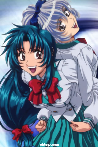 Full Metal Panic iPhone Wallpaper