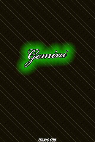 Gemini iPhone Wallpaper