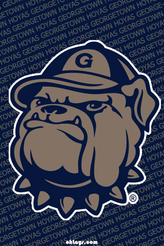 Georgetown Hoyas iPhone Wallpaper