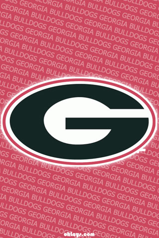 Georgia Bulldogs iPhone Wallpaper