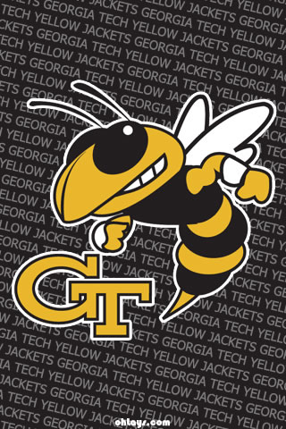 Georgia Tech Yellow Jackets iPhone Wallpaper