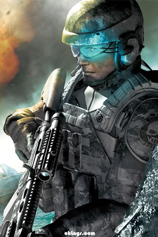Ghost Recon iPhone Wallpaper